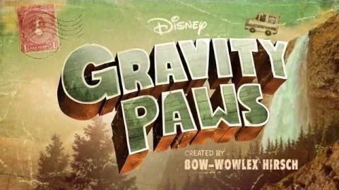 Gravity Paws Show Open Gravity Falls Disney XD