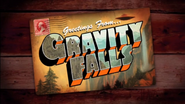 Pilot gravity falls title card
