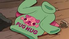 S2e7 pug hug