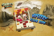 Game mystery tour ride start menu