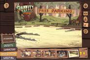 Poscard creator free parking