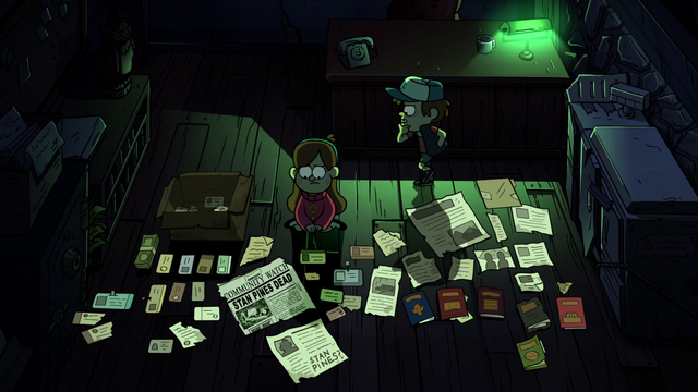 File:S2e11 papers layed out.png