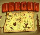 Гравити Фолз, штат Орегон