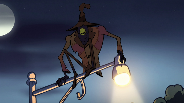 File:S1e12 The Creature in the coat hangs on the lampost.png