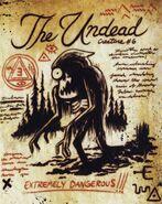 Six strange tales journal 3 undead