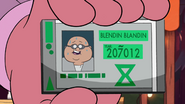 S1e9 blendin id card