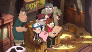 S2e20 Soos and Ford share a look