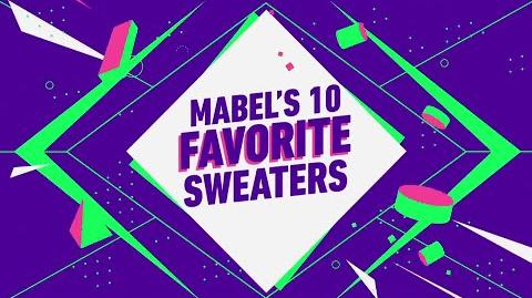 Gravity Falls - Mabel's Favorite Sweaters