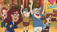 S1e9 Cheer for Stan's defeat