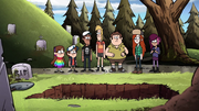 S2e9 teens and twins standing by grave.png