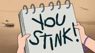 S1e8 you stink