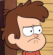 Dipper's not amused