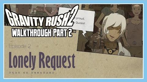 Gravity Rush 2 Walkthrough Part 2 - Episode 2 Lonely Request