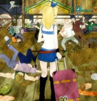 Fairy Tail Guild at first seen by Lucy