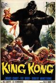 King Kong 1933 original poster