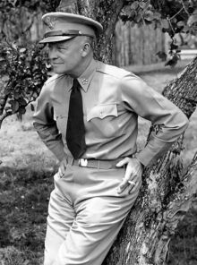 445px-Dwight D. Eisenhower as General of the Army crop