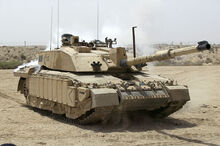 1024px-Challenger 2 Main Battle Tank patrolling outside Basra, Iraq MOD 45148325