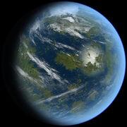 Venus Terraformed by Ittiz