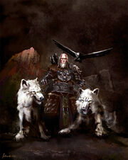 Odin the ruler of asgard by redan23-d3e6nr9