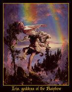 Iris goddess of the Rainbows