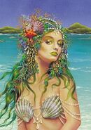 Amphitrite goddess sea