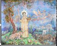 Demeter greek goddess