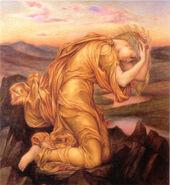 Demeter mourning