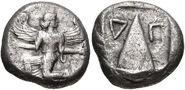 Iris' drachma