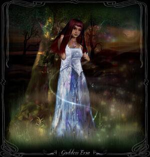 Goddess ersa by azurylipfe