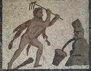 Augean Mosaico Trabajos Hércules (M A N Madrid) 05