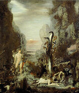 Hercules and the Lernaean Hydra ca 1876