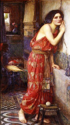 Thisbe - John William Waterhouse