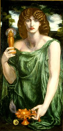 220px-Mnemosyne (color) Rossetti
