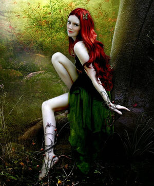 Nymph in enchanted forest by svoja i nicija-d2zax2d