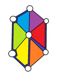 Hexagon path