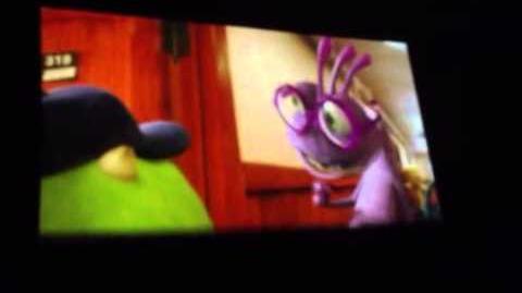 MONSTERS UNIVERSTY SCENE Meet Randall