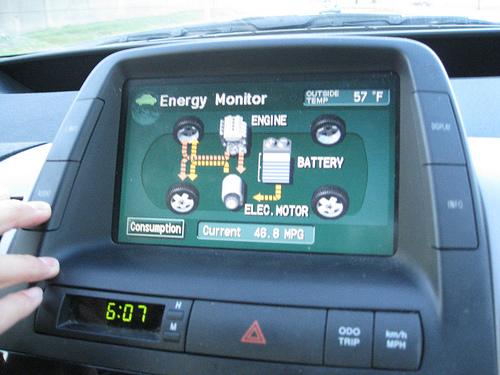File:The Prius dashboard.jpg