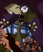 Dweeb The Parasaurolophus