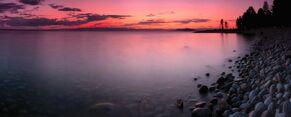 Baikal panorama