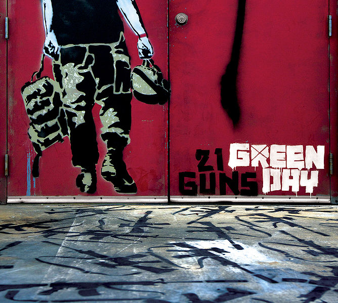 """song essays about 21 guns by green day Where is the love song analysis where is the love  """"21 guns, and holiday"""" by green day, and """"waiting on the world to change"""" by john mayer."""