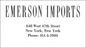 Emerson card front