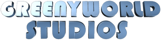 GreenyWorld Studios 2013 Words-only Logo