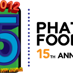 This logo was used during Phatom Foods's 15th Anniversary in 2012.