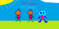 3 Greeny Friends