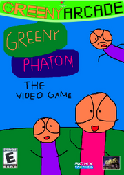 Greeny Phatom The Video Game cover (Greeny Arcade)