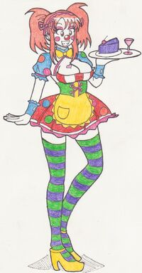 Clowning around mikuru maid by kobi94-d5w72a4