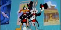 Bugs Bunny and Daffy Duck