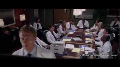 Grey's Anatomy 8x23 - PROMO - Migration