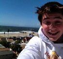 GREYSON AT THE BEACH