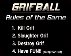 Grifball Rules Product